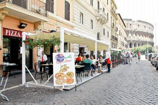 There is pizza EVERYWHERE in Rome. Source: Trip Advisor