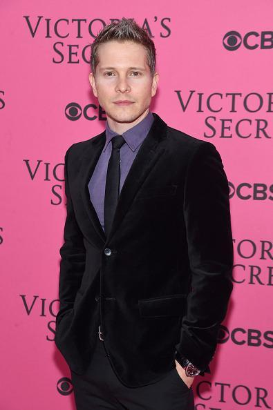 <p>Matt Czuchry, wearing a velvet blazer, was obviously at the Victoria's Secret Show to celebrate the return of <i>Gilmore Girls</i>. Or just look at pretty girls. Probably the latter. </p>