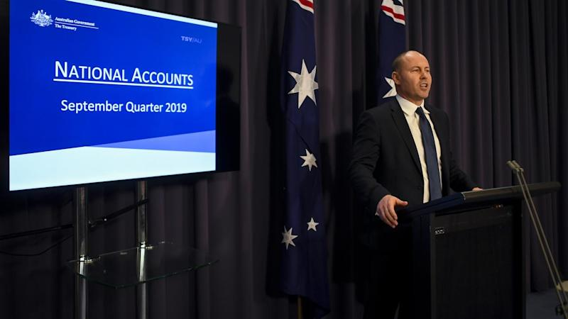 Treasurer Josh Frydenberg is upbeat about the economy despite others saying it could be better