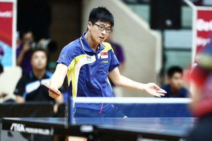 High hopes for Singapore's new generation in table tennis