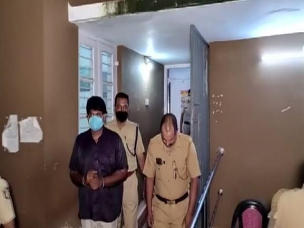Police personnel along with the accused. (Photo/ANI)