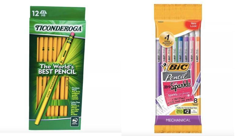 Whether they prefer a classic pencil or a mechanical one, you'll want to stock up before the first day of school.