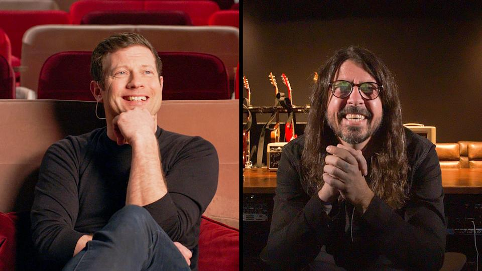 Reel Stories: Dave Grohl - Picture Shows: Dermot O'Leary, Dave Grohl (Ora Et Labora/Craft Films)