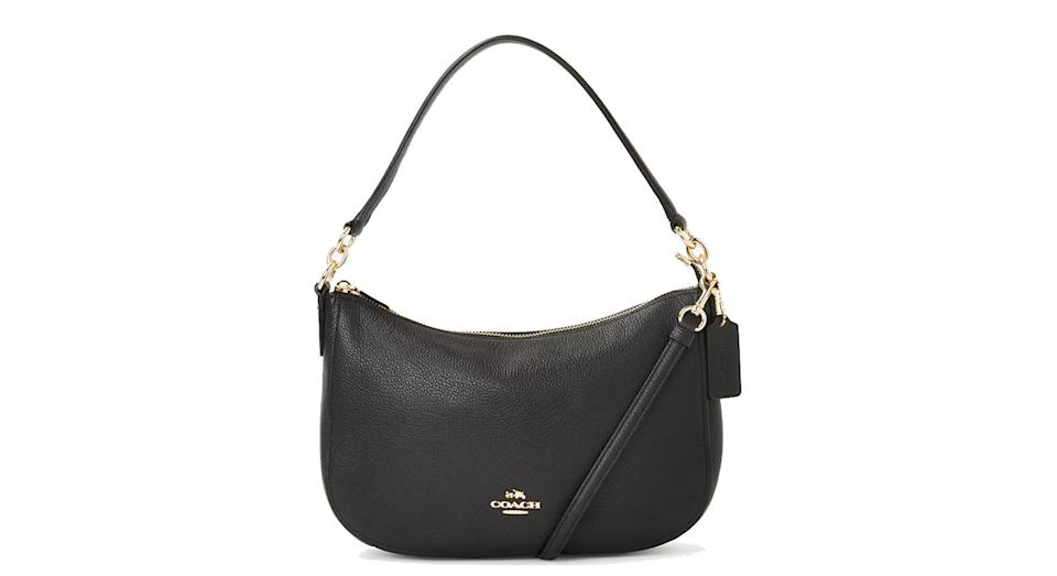 Coach Chelsea Polished Pebble Leather Cross Body Bag