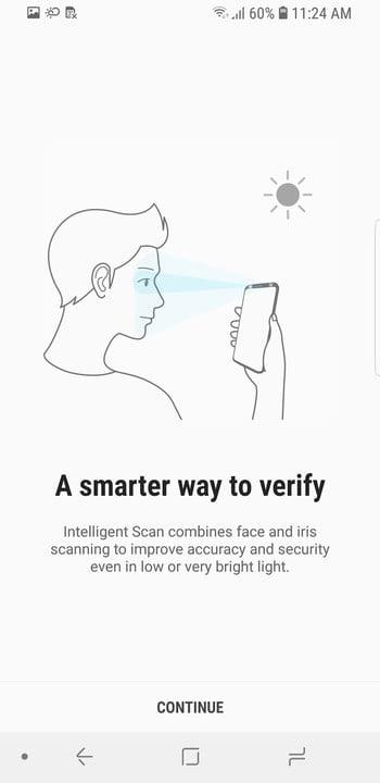 galaxy s9 tips and tricks intelligent scan 1
