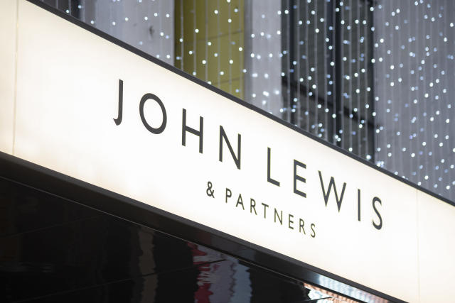 A John Lewis store in London, UK. (Claire Doherty/Sipa USA/PA)