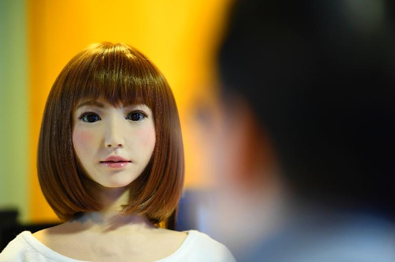 A source of controversy due in part to fears for human employment, the presence of robots in our daily lives is nevertheless inevitable, engineers say (AFP Photo/GABRIEL BOUYS                    )