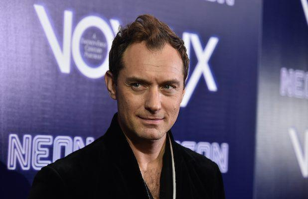 Jude Law in Talks to Play Captain Hook in Disney's Live-Action 'Peter Pan & Wendy'