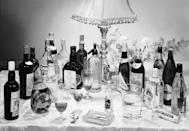 <p>It was polite to make sure your liquor cabinet was up to snuff before hosting a shindig, so that you could make any drink guests requested. This was especially important given that hard liquor is what most people drank before dinner at the time. </p>