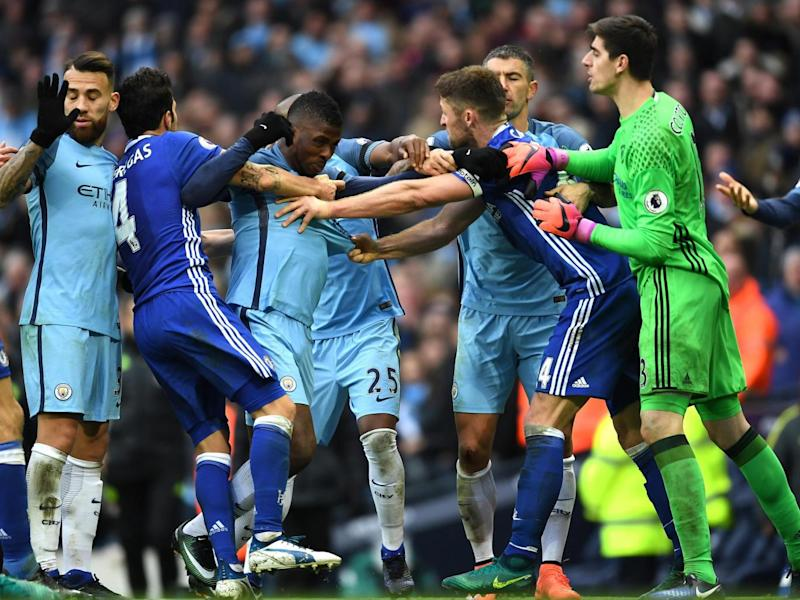 Chelsea and City clash on April 5 (Getty)
