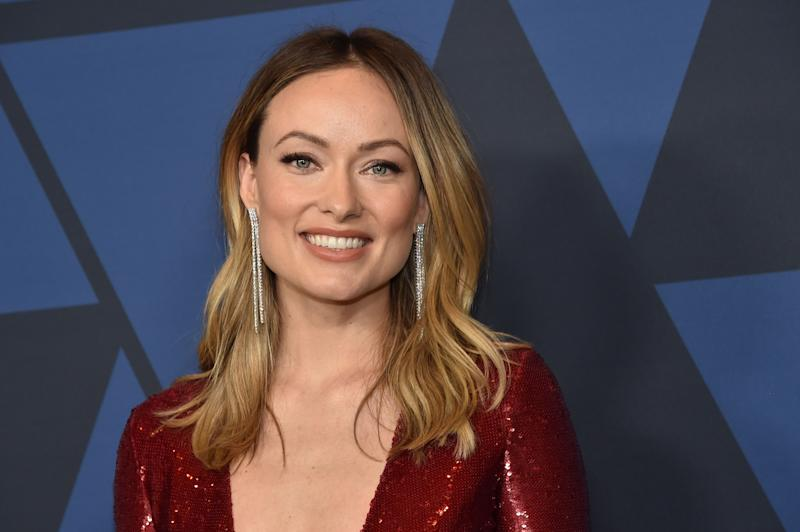 US actress Olivia Wilde arrives to attend the 11th Annual Governors Awards gala hosted by the Academy of Motion Picture Arts and Sciences at the Dolby Theater in Hollywood on October 27, 2019. (Photo by Chris Delmas / AFP) (Photo by CHRIS DELMAS/AFP via Getty Images)