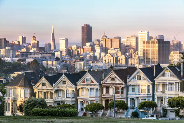 The unaffordable Bay Area is pushing people out of the city (Getty Images)