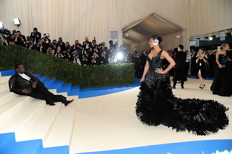Sean Combs and Cassie attends