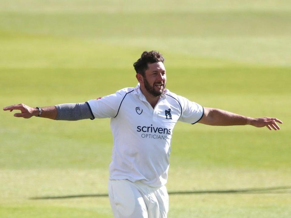 Tim Bresnan finished with six catches in the innings at first slip in Warwickshire's win at Yorkshire (Nick Potts/PA) (PA Archive)