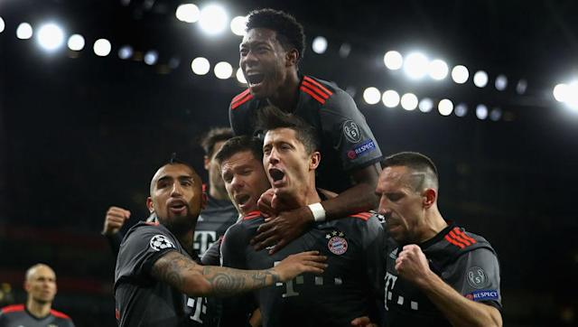 <p>When they destroyed Arsenal with back-to-back 5-1 victories to make it an aggregate 10-2 scoreline, Bayern made history twice. First, this was the worst defeat by an English club in the history of the Champions League. Second, this was the second biggest knockout win in Champions League history. </p> <br><p>But no frustration, because the interesting thing here is that they also hold this record, with a 12-1 aggregate victory over Sporting CP in 2009 (5-0 ; 7-1).</p>