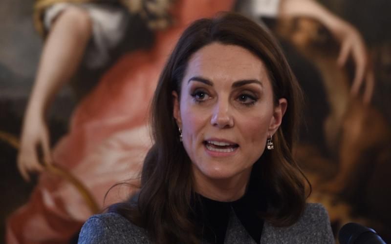 The Duchess of Cambridge speaks at the Foundling Museum - eddie_mulholland@hotmail.com
