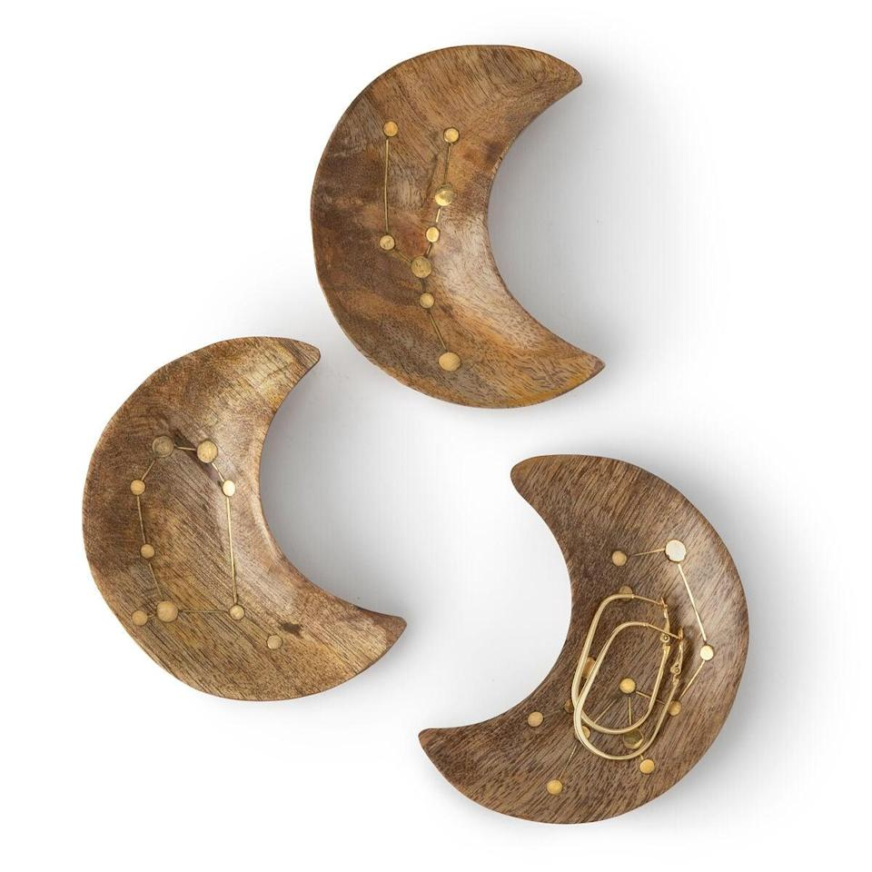 <p>The <span>Wooden Zodiac Constellation Jewelry Dish</span> ($20) is perfect for keys, jewelry, or the catch-all station.</p>