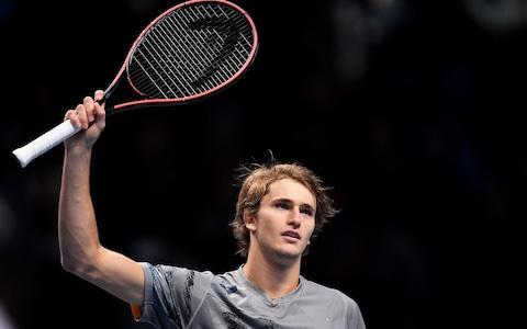 Defending champion Alexander Zverev triumphed in straight sets - Credit: GETTY IMAGES