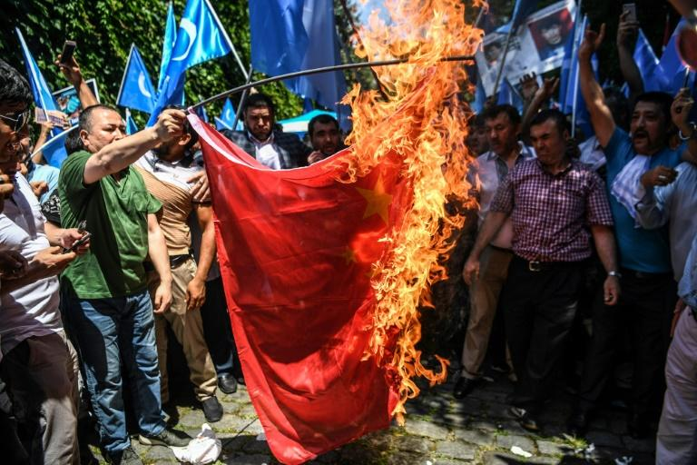 The plight of the Uyghurs has in the past provoked virulent reactions in Turkey, from protesters burning Chinese flags to South Korean tourists getting beaten up in the street after being mistaken for Chinese