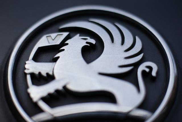 """File photo dated 06/03/17 of the griffin badge on the front of a Vauxhall vehicle. The company says that it is """"following a strategic plan"""" despite the car giant slips into third place for UK sales rankings."""