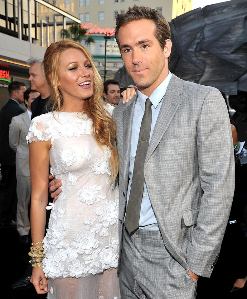 "Blake Lively and Ryan Reynolds ""quickly"" tied the knot recently because it looks like they ""have a baby on the way,"" reveals <i>Star</i>. The mag notes their friends are convinced ""the pair rushed down the aisle because Blake is already pregnant."" For what tipped off the couple's pals that they're expecting, see what a Lively confidante leaks to <a target=""_blank"" href=""http://www.gossipcop.com/blake-lively-pregnant-ryan-reynolds-baby-bump-shotgun-wedding/"">Gossip Cop</a>."