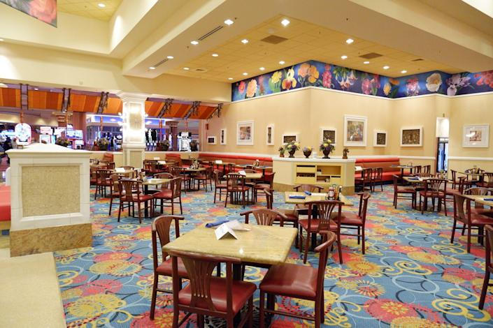 As of June 1, the Garden Buffet at South Point on South Las Vegas Boulevard flipped to self-serve.
