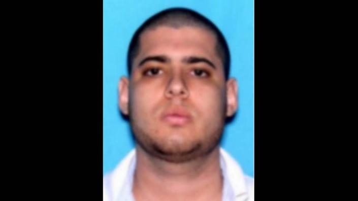 """Jonathan David Cifuentes' picture on the FBI """"Wanted"""" posters."""