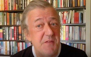 Stephen Fry proffers the unexpected from his book-lined haven