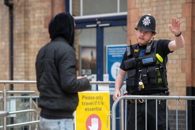 Police conduct spot-checks on passengers at Leicester railway station