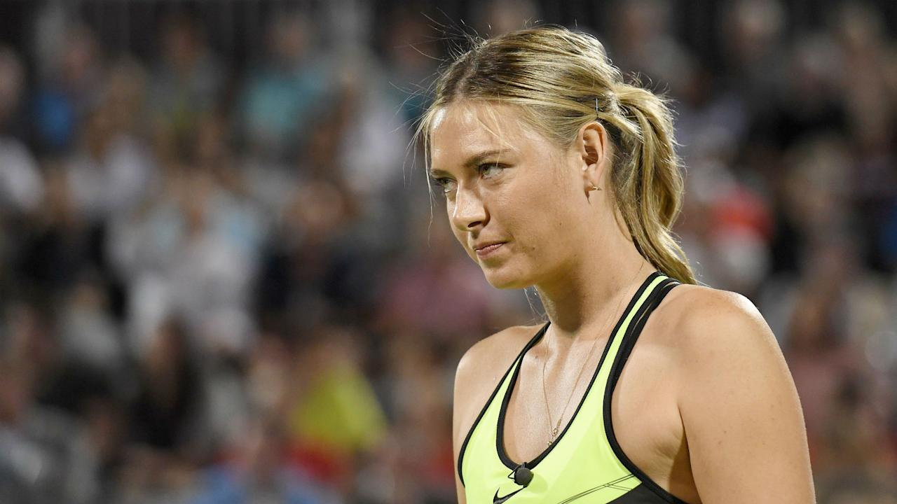 Five-time major winner Maria Sharapova says it will be hard for her to shake off suspicions as she nears the end of her 15-month doping ban.