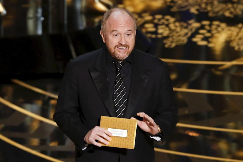 Louis C.K.'s parenting jokes are some of his most iconic.  (Mario Anzuoni / Reuters)