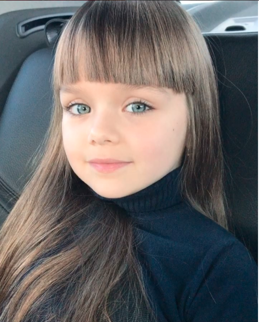 She is just six-years-old. Photo: Instagram