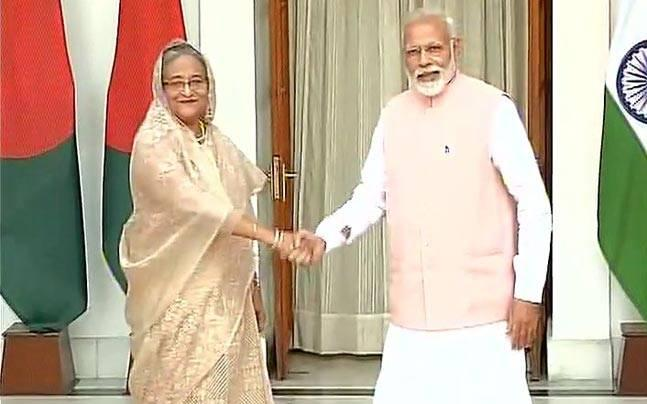 Sheikh Hasina in India: The Teesta story as PM Modi tries to convince Mamata