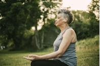 """<p>Meditation might be something of a trend right now, but it has a host of benefits, including making someone feel happier and more at peace.</p><p>One study published by the US National Library of Medicine National Institutes of Health measured the <a href=""""https://pubmed.ncbi.nlm.nih.gov/23724462/"""" rel=""""nofollow noopener"""" target=""""_blank"""" data-ylk=""""slk:cortisol levels"""" class=""""link rapid-noclick-resp"""">cortisol levels</a> before meditation of 30 medical students. FYI, too much cortisol leads to stress, anxiety, and mood swings. The study found that after only four days of mindful meditation, the students' cortisol levels had decreased significantly. Download a meditation app and start doing it once a day - you only need a few moments. </p>"""