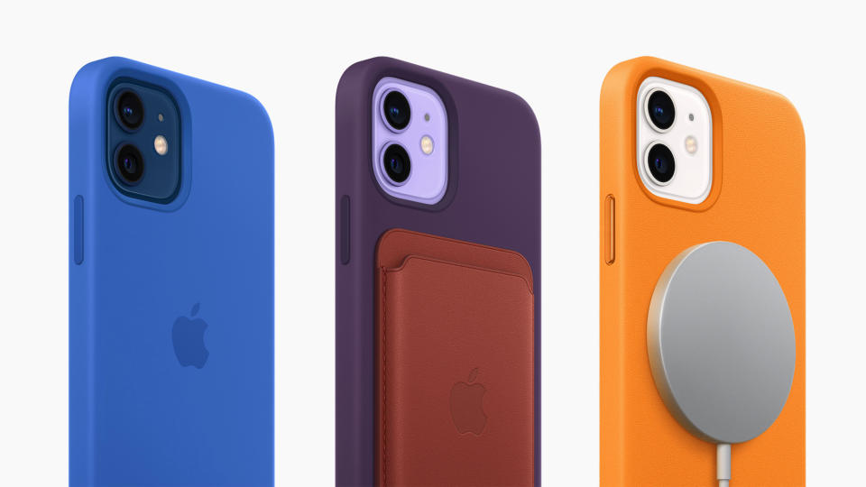 <p>The Apple iPhone 12 in a new color: Purple</p>