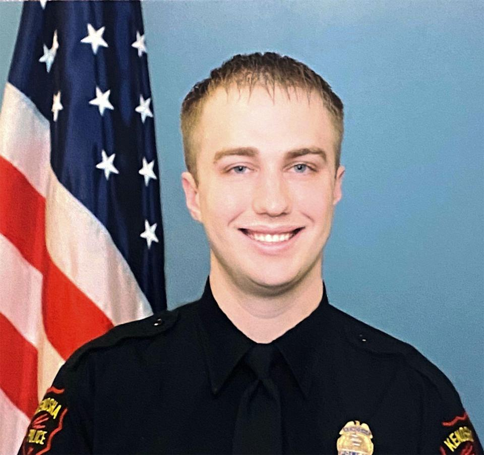 This undated and unlocated handout image released by the Wisconsin Department of Justice on August 28, 2020 shows Kenosha Police Officer Rusten Sheskey, who opened fire on Jacob Blake during his attempted arrest on August 23. - Jacob Blake was shot seven times in the back at close range on August 23 by white officer Rusten Sheskey, who was trying to apprehend the 29-year-old father. Authorities said police were attempting to arrest Blake and had tried to subdue him with a stun gun. They added that a knife had been found in his car.