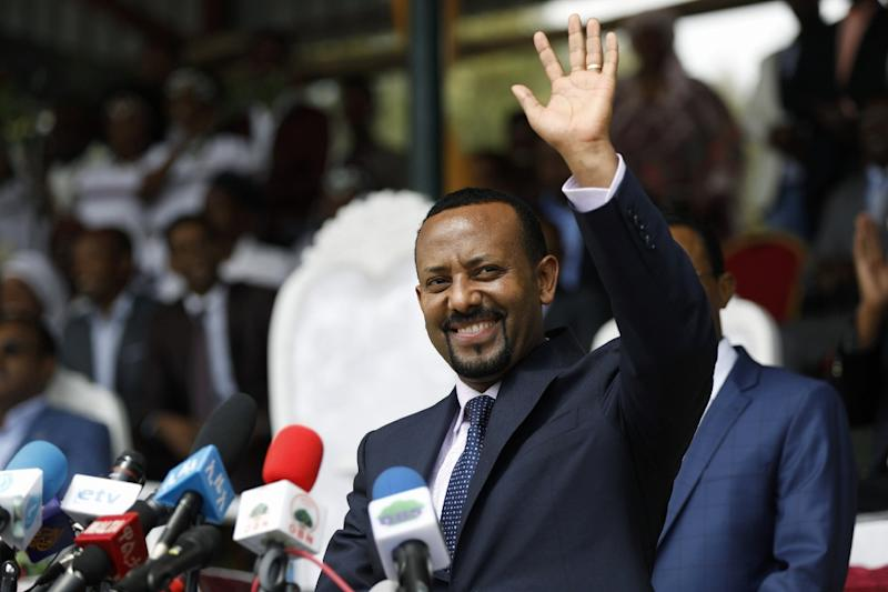 New Prime Minister Abiy Ahmed is the first prime minister in modern Ethiopian history to come from the country's largest ethnic group, the Oromo (AFP Photo/Zacharias Abubeker)