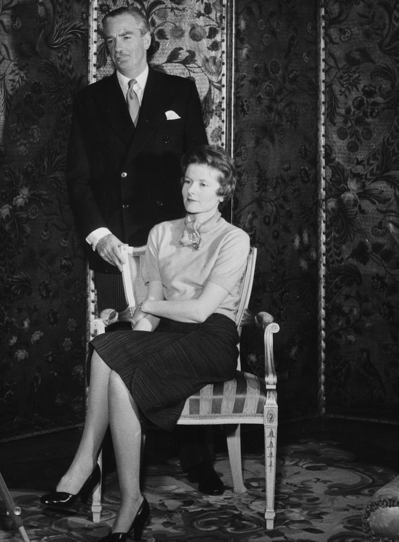Lady Clarissa Eden is the niece of former Prime Minister Winston Churchill. The 99-year-old published a memoir, 'From Churchill to Eden', in 2007 about her experiences at Number 10. <em>[Photo: Getty]</em>