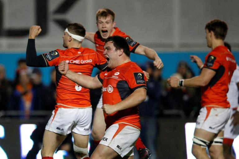 Saracens booked their European Champions Cup place in the last four with a convincing 38-13 quarter-final win at home to Glasgow, at Allianz Park in London, April 2, 2017