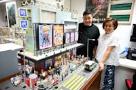 Maggie Chan and Tony Lai of Toma Miniatures have preserved Hong Kong's architectural past in stunning detail