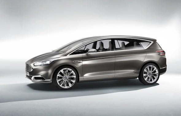 A close look at the Ford S-Max Concept
