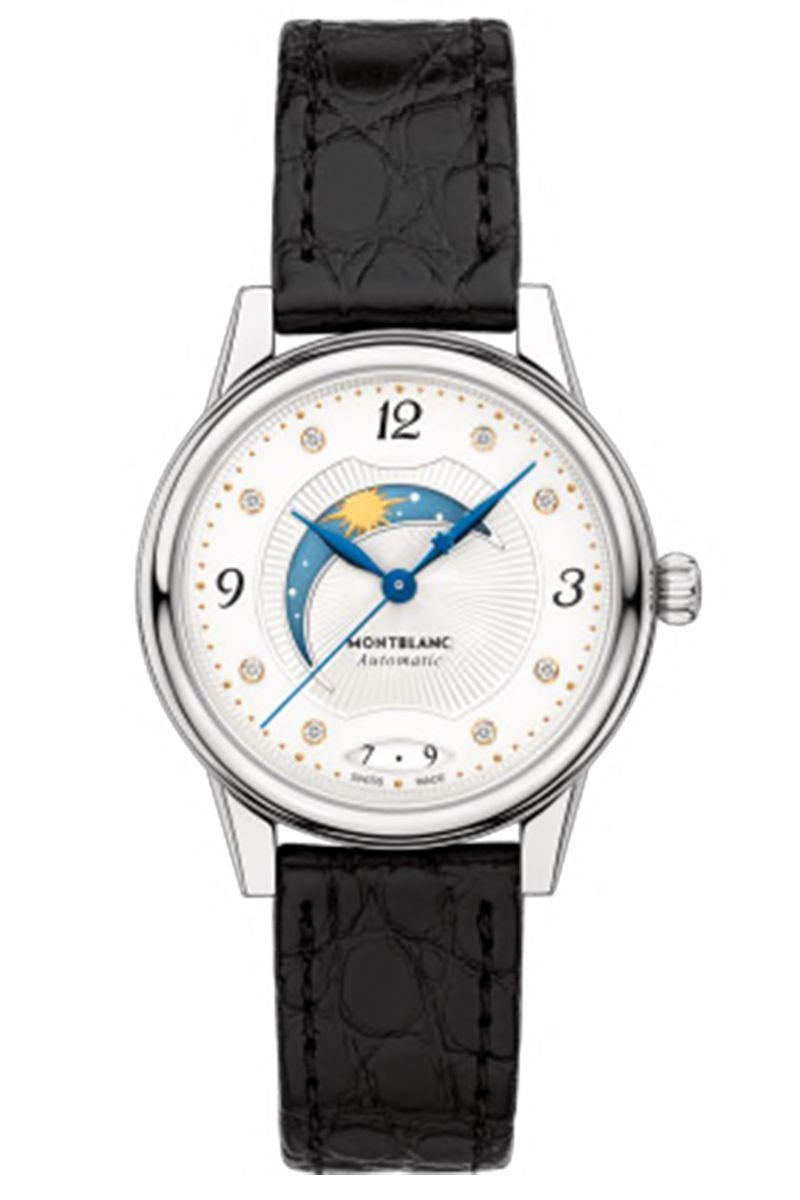 """<p><strong>Montblanc Bohème Day & Night Watch</strong></p><p>montblanc.com</p><p><strong>$3655.00</strong></p><p><a href=""""https://go.redirectingat.com?id=74968X1596630&url=https%3A%2F%2Fwww.montblanc.com%2Fen-us%2Fcollection%2Fwatches%2Fmontblanc-boheme-collection%2F114730-montblanc-boheme-day--night-30-mm.html&sref=https%3A%2F%2Fwww.harpersbazaar.com%2Ffashion%2Ftrends%2Fg30515430%2Fbest-watch-brands-for-women%2F"""" rel=""""nofollow noopener"""" target=""""_blank"""" data-ylk=""""slk:Shop Now"""" class=""""link rapid-noclick-resp"""">Shop Now</a></p><p>The phrase <em>The pen is mightier than the sword</em> certainly rings true for Montblanc. The Hamburg, Germany–based company was founded by Alfred Nehemias and August Eberstein in 1906 as a manufacturer of writing instruments. Indeed, the label ranks high among pen aficionados, most of whom have a particular affinity for the Meisterstück.</p><p>So when Montblanc decided to introduce a line of timepieces in 1997, it did so with its most iconic pen design. It has since created a number of collections throughout the years, but like the Meisterstück, they were marketed to men. It was not until the introduction of the Bohème watch in 2015 that the company really invested resources in wooing women. </p>"""