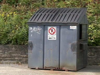 Officials made the decision to dispose of what they believed to be a mannequin in a dumpster at the Sherbrooke police service, which was inaccessible to the public (CBC)