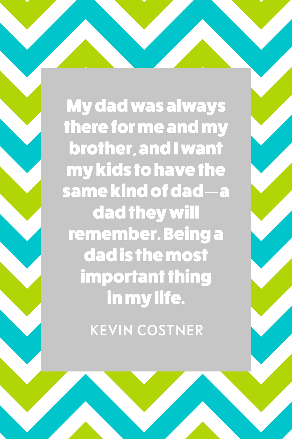 """<p>""""My dad was always there for me and my brother, and I want my kids to have the same kind of dad—a dad they will remember. Being a dad is the most important thing in my life,"""" Costner told <em><a href=""""https://www.closerweekly.com/posts/kevin-costner-fatherhood-162429/"""" rel=""""nofollow noopener"""" target=""""_blank"""" data-ylk=""""slk:Closer Weekly"""" class=""""link rapid-noclick-resp"""">Closer Weekly</a></em> in 2018. </p>"""