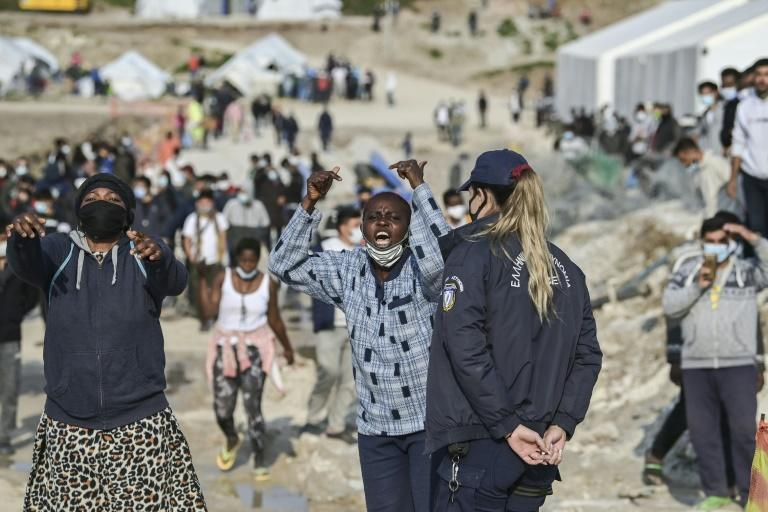 Designed to be temporary after a fire destroyed the island's previous permanent facility of Moria, Mavrovouni has been home to over 6,000 people since September