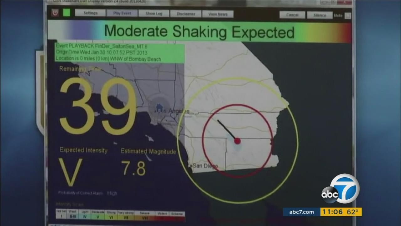 President Donald Trump's budget would get rid of federal funding for an earthquake early warning system that has been created for California and other West Coast states.
