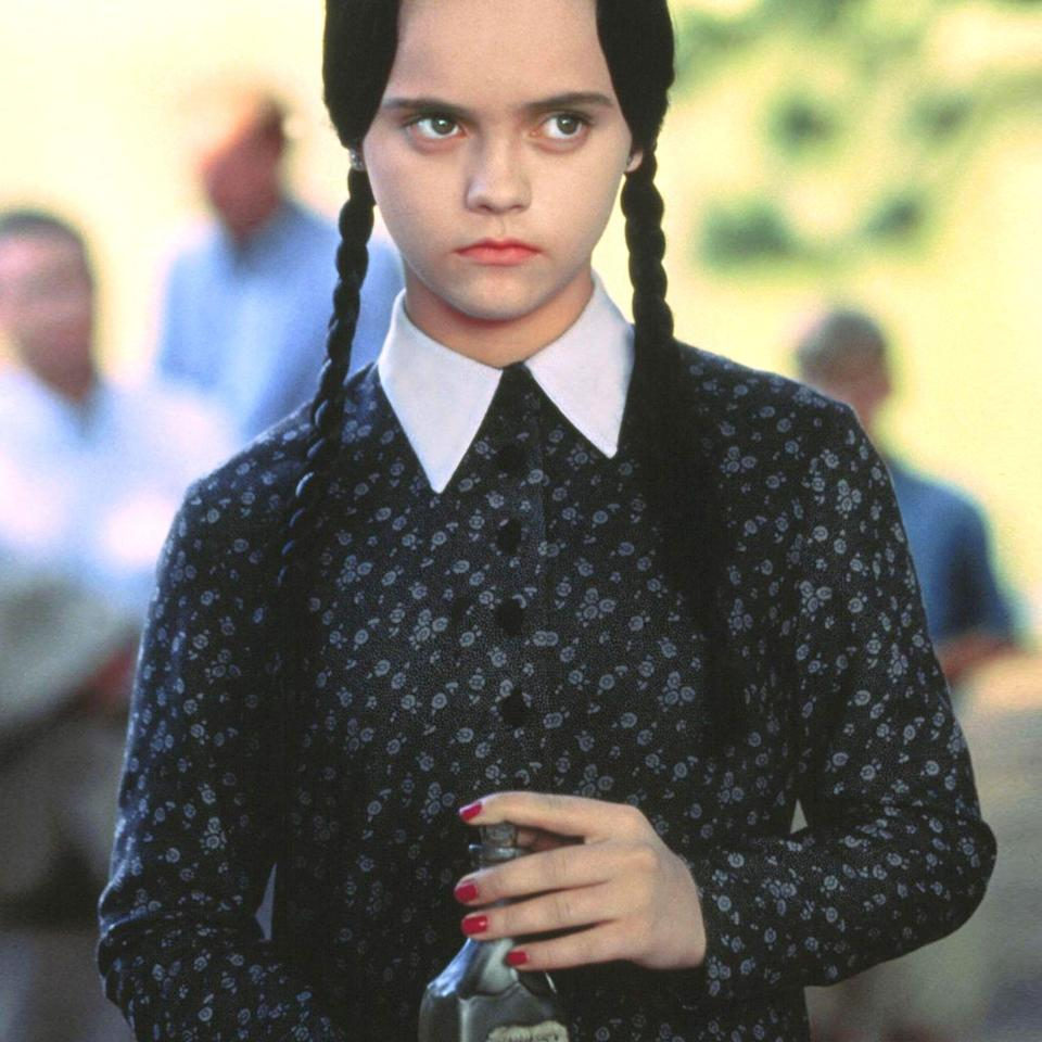 """<p>Christina Ricci's iconic character said it best: """"This is my costume. I'm a homicidal maniac. They look just like everyone else."""" It's that darkness — not to mention the incredible ease of <a href=""""https://www.bestproducts.com/lifestyle/news/g1715/easy-diy-last-minute-costumes-for-halloween/"""" rel=""""nofollow noopener"""" target=""""_blank"""" data-ylk=""""slk:DIYing the look"""" class=""""link rapid-noclick-resp"""">DIYing the look</a> — that makes Wednesday Addams a <a href=""""http://www.bestproducts.com/lifestyle/g3038/groovy-hippie-costumes-for-halloween/"""" rel=""""nofollow noopener"""" target=""""_blank"""" data-ylk=""""slk:perennial Halloween costume favorite"""" class=""""link rapid-noclick-resp"""">perennial Halloween costume favorite</a>. </p><p>And if you're looking to channel your inner goth, we have you covered with the <a href=""""https://www.bestproducts.com/halloween-costumes/"""" rel=""""nofollow noopener"""" target=""""_blank"""" data-ylk=""""slk:ideas, outfits, and accessories"""" class=""""link rapid-noclick-resp"""">ideas, outfits, and accessories</a> that'll make your Wednesday Addams costumes as classic as the Addams family itself. From all-in-one sets, to cozy sweatshirts, and even everyday dresses you can wear long after Halloween, here's everything you need to nail Wednesday's spooky aesthetic.</p>"""