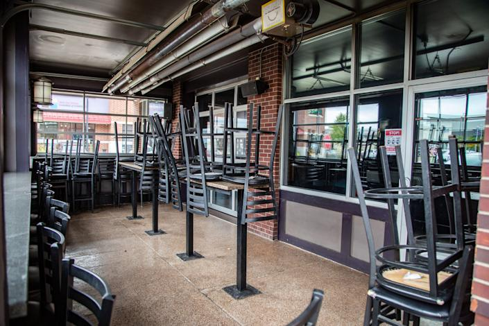 Tonic Bar in West Des Moines is closed for business Tuesday, Sept. 1, 2020.