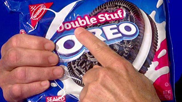 Double Stuf Oreos not that stuffed up?