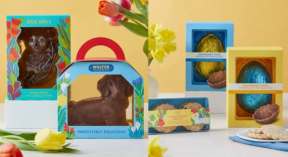 You can now pre-order M&S' fantastic Easter 2021 eggs online. (Marks & Spencer)